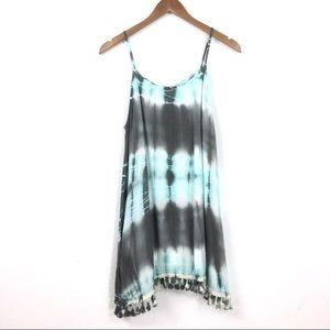 Altar'd State tassel hen tie dyed shift dress!